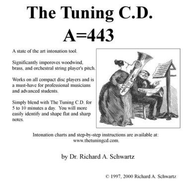 Album cover for A=443