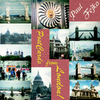 Album cover for PostCards from London