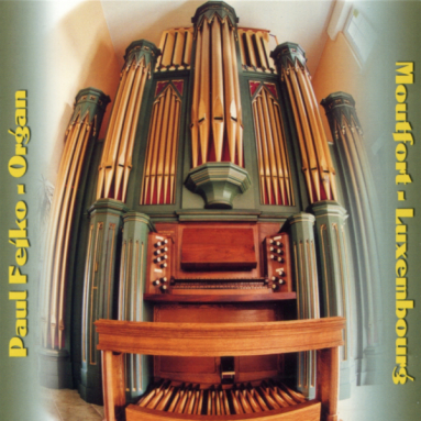 Album cover for Tani House Organ in Luxembourg